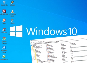 Windows 10 - Change the distance between icons on the desktop