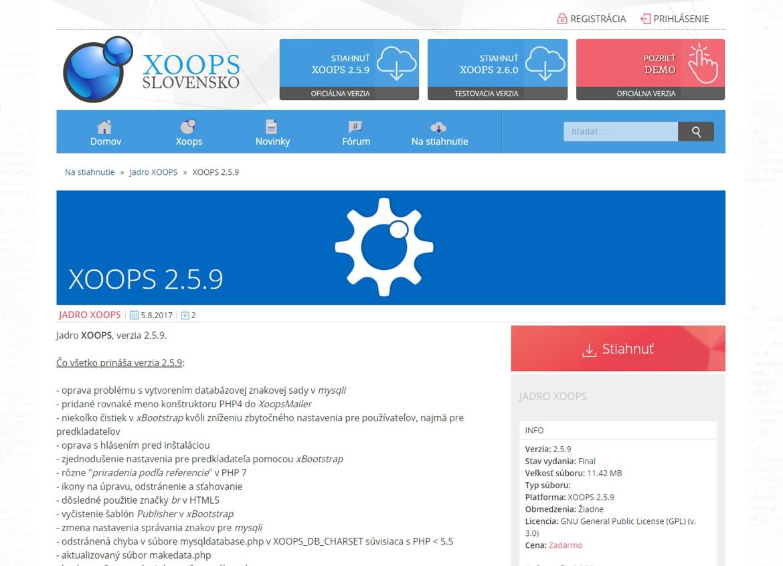 XOOPS Slovensko